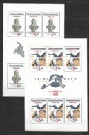 O-246-CZECHOSLOVAKIA - EMISION PRAGUE  CASTLE 1983  -CAT. MICHEL NUMMER TL 2721-2722 MNH** - Blocks & Sheetlets