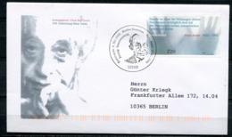 """Germany 2003 Künstler FDC Mi.Nr. 2338 Ersttagsbrief""""100.Geburtstag Von Hans Jonas, Religionshistoriker, Philosoph """"1 FDC - Theologen"""
