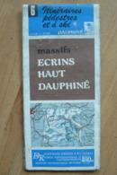 Carte Pédestre & Ski - IGN 6 - Massifs Des Ecrins Et Du Haut Dauphiné - 1:50 000 - Topographical Maps