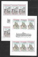 O-248-CZECHOSLOVAKIA - EMISION PRAGUE  CASTLE 1985  -CAT. MICHEL NUMMER TL 2834-2835 MNH** - Blocks & Sheetlets