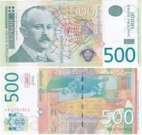 Serbia - 500 Dinara 2012 UNC Lemberg-Zp - Serbia