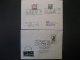 Österreich- Christkindl 2412.1965 Und 27.12.1965, Christkindl 7.12.1966 LZ Ried/Innkreis - 1961-70 Covers