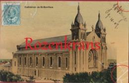 Canada MANITOBA NORWOOD Cathédrale St Boniface RARE Old Postcard - Manitoba