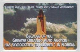USA SPACE ROCKET LAUNCH GREATER ORLANDO AUTO AUCTION FLORIDA - Espacio
