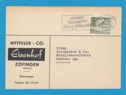 "PERFIN/PERFORATION/FIRMENLOCHUNG ""EISENHOF,ZOFINGEN"". - Schweiz"