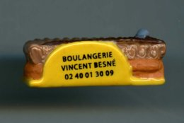 "FEVE - FEVES - ""PERSO"" -   BOULANGERIE - PATISSERIE VINCENT à BESNE (44) -  GATEAU CHOCOLAT - Charms"