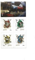TIMBRES - STAMPS - SELLOS - FRANCOBOLLI -  PORTUGAL - HARRY POTTER - TIMBRES AUTO-ADHÉSIVES NEUFS - MHN - Kino