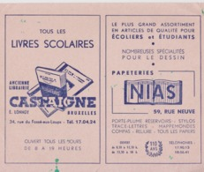 Bruxelles Carte De Visite Publicité. - Publicité