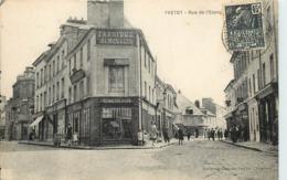 YVETOT - Rue De L'étang; Bennetot Vion, Fabrique De Meubles. - Yvetot