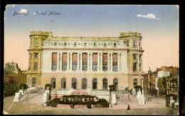 Postcard, Romania, Old, Bucuresti, House Of Army, Written, 1919, Publ. R. O. David $ M. Saraga, Bucuresti, See Scans - Romania