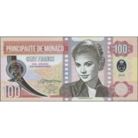 TWN - PRINCIPAUTÉ DE MONACO (private Issue) - 100 Francs 2019 Polymer - Low Serial S 000XX UNC - Banconote