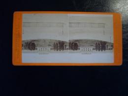 MILANO 1905  FOTO STEREOSCOPIO   STAZIONE FERROVIA GIACOMO BROGI FIRENZE - Stereoscopio