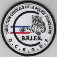 Écusson Police Judiciaire OCRGDF - BRIFN - Polizia