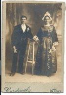 VANNES - Photo Originale D'époque Avant 1900 CARDINAL - 10 Rue Billault - UN COUPLE De MARIÉS - Vannes