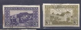 190032152  BOSNIA-HERZEGOVINA  YVERT   Nº 30/1  S/D - Bosnia Herzegovina