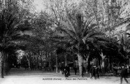 B58839 Cpa Ajaccio - Place Des Palmiers - Non Classés