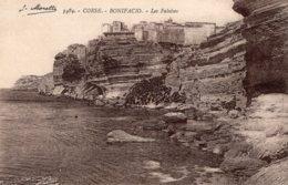 B58842 Cpa Bonifacio - Les Falaises - France