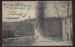 AYWAILLE PANORAMA Postkaart Van DESAIX Met Stempels JODOIGNE / GELDENAKEN En PASSED BY CENSOR  ; Staat Zie 3 Scans ! - WW I