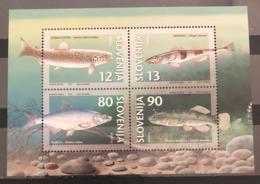 Slovenia, 1997, Mi: Block 4 (MNH) - Fische