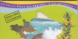 2009 Carnet Flore Des Régions Carnet N°C291 - France