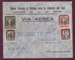 CHILI - Lettre SANTIAGO Pour TOULOUSE En Poste Aérienne / 1930 - Chile