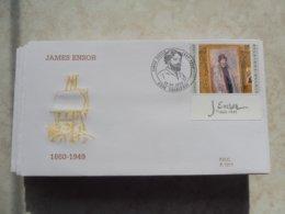 Belgique Fdc Ensor  1999 / Numero 2822 - 1991-00