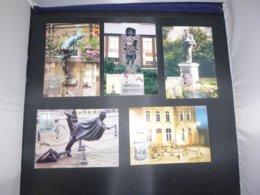 "BELG.2003 3194 3195 3196 3197 & 3198 FDC Filatelic Card "" Tourisme "" : WITH SIGNATURE CREATOR "" STEVEN WILSENS "" - FDC"