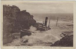 56 Belle-ile-en-mer Cote De Donnant Naufrage Du Cargo Yser - Belle Ile En Mer
