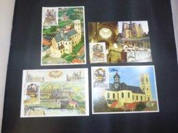 "BELG.2000 2926 2927 2928 & 2929 FDC Filatelic Cards (type 1) : "" Tourisme "" - FDC"