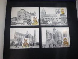 "BELG.2000 2926 2927 2928 & 2929 FDC Filatelic Cards (type 3) : "" Tourisme "" - FDC"