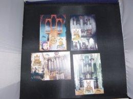 "BELG.2000 2926 2927 2928 & 2929 FDC Filatelic Cards (type 4) : "" Tourisme "" - FDC"