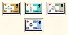 ST HELENA - 1970 Red Cross Set Unmounted/Never Hinged Mint - Saint Helena Island