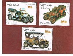 VIETNAM - SG 745.748    - 1984 MOTOR CARS    -  USED - Vietnam