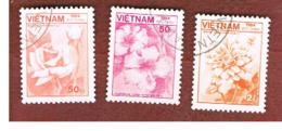 VIETNAM - SG 774.782    - 1984  FLORA   -  USED - Vietnam