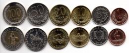 Albania - Set 6 Coins 1 5 10 20 50 100 Leke 2000 - 2016 UNC Lemberg-Zp - Albania
