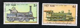 VIETNAM - SG 869    - 1985 GERMAN RAILWAYS ANNIVERSARY: LOCOMOTIVE 1920  -    USED - Vietnam