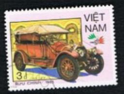 "VIETNAM - SG 878    - 1985 ""ITALIA  '85"" INT. STAMP EXN.: CARS (ITALA 1912) -    USED - Vietnam"
