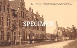 Pensionnat Stella-Maris Et Boulevard Willem De Roo - Nieuport - Nieuwpoort - Nieuwpoort