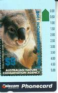 AUSTRALIA $5 KOALA ANIMAL CONSERVATION FUNDS RISING STAMP SCARCE AUS-123 MINT READ DESCRIPTION !! - Australia