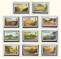ST HELENA - 1978 Definitives Set Unmounted/Never Hinged Mint - Saint Helena Island