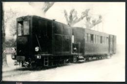 Repro Ancienne D'un Document - Tramways De L'Ain (T.A.). Ligne Pont-de-Vaux à Fleurville. Tracteur Petroléo Electrique - Trains