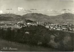 Malo (Vicenza) Panorama, General View, Vue Generale, Gesamtansicht, Monti Pasubio, Novegno E Summano Sul Fondo - Vicenza