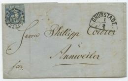 1862 Altdeutschland Bayern → Brief Grünstadt Nach Annweiler - Bavaria