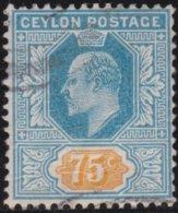 Ceylon     .    SG        .   274     .         O      .       Cancelled .   /   .   Gebruikt - Ceylon (...-1947)