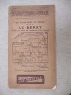 GUIDE 1912 - LE BERRY Le Cher Indre La Creuse ( Publicité Papier Cigarette ABADIE Paris / Montre OMEGA / CACAO POULAIN - Culture