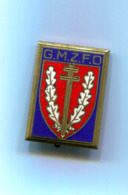 Insigne GMZFO Occupation Allemagne Attache Cassée - Insegne