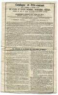 Catalogue Des Graines Potagères, Fourragères, Céréales Jacquemet Bonnefont Annonay Lyon 1858 - Agriculture