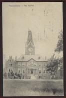 FELDPOST Postkaart Van Paschendaele Het Kasteel Met CENSUR Stempel 1915 K.D. Feldpostexp. ; Staat Zie 2 Scans ! - WW I