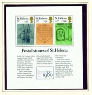 ST HELENA - 1980 London 1980 Miniature Sheet Unmounted/Never Hinged Mint - Saint Helena Island