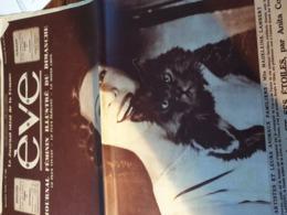 EVE  34/ MADELEINE LAMBERT SAINT PIERRE BENOUVILLE /RENEE SAINT CYR /LUCIE DELARUE MARDRUS - 1900 - 1949